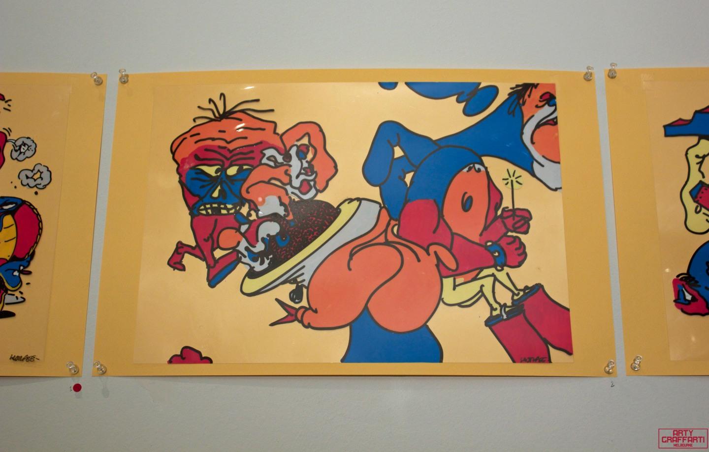 Horfee R. Maurice Pathetic Bubble Doomsday Store Arty Graffarti8