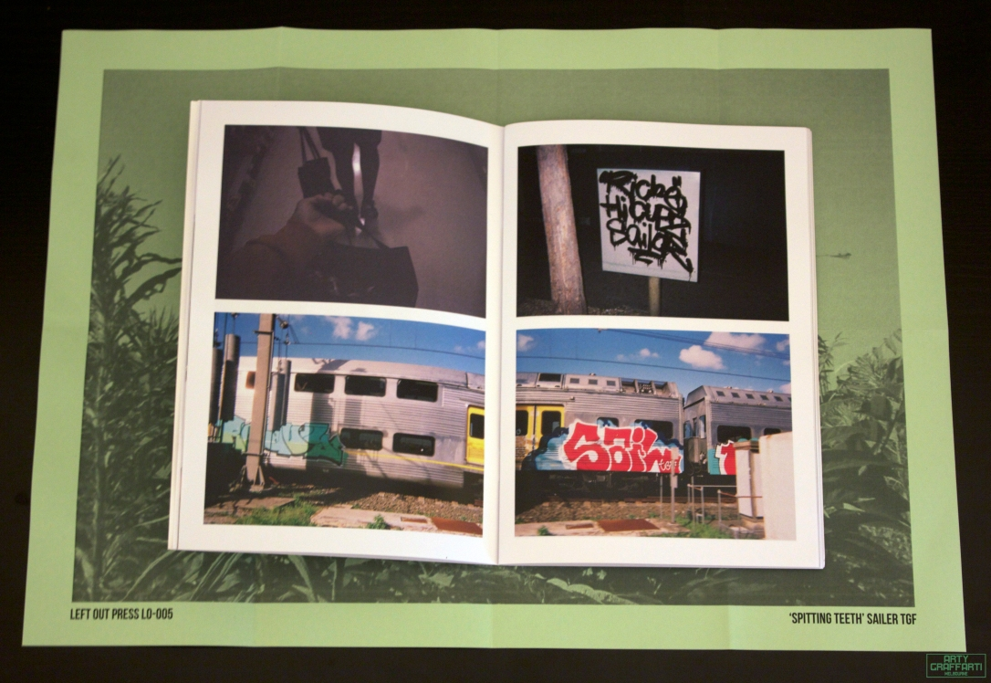 Left Out Press 005 Sailor TGF Spitting Teeth Zine2