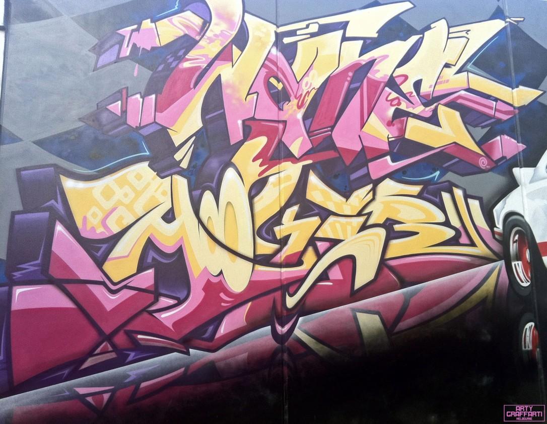 Wane Dvate Hooks Dem139 Sirum Collingwood12 Melbourne Arty Graffarti Graffiti