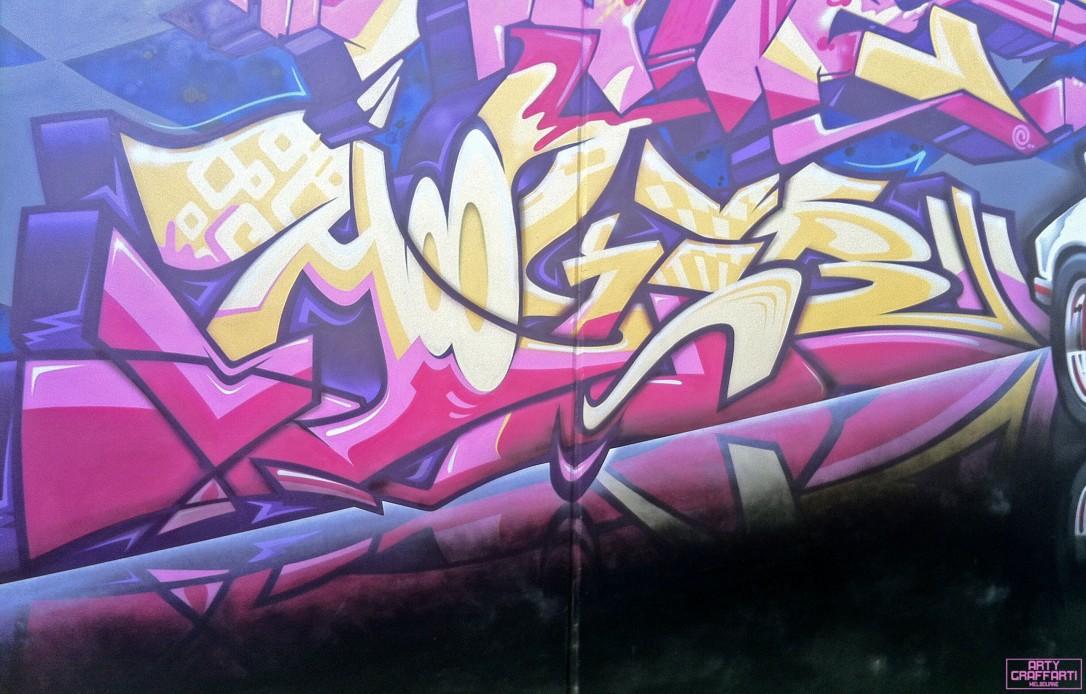 Wane Dvate Hooks Dem139 Sirum Collingwood13 Melbourne Arty Graffarti Graffiti
