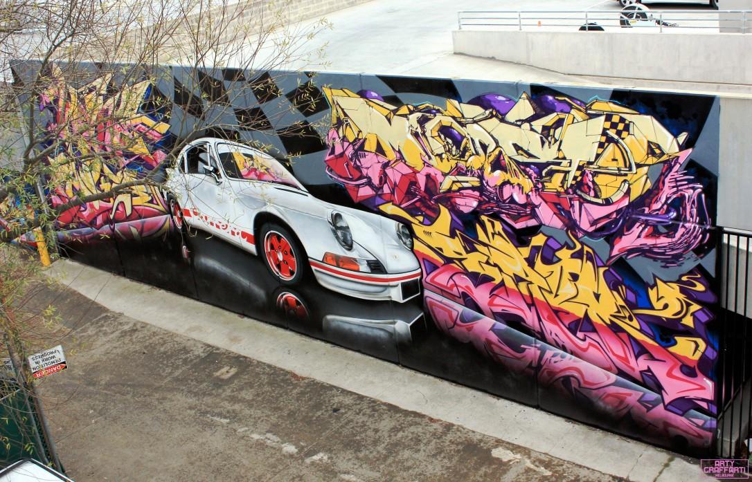 Wane Dvate Hooks Dem139 Sirum Collingwood3 Melbourne Arty Graffarti Graffiti