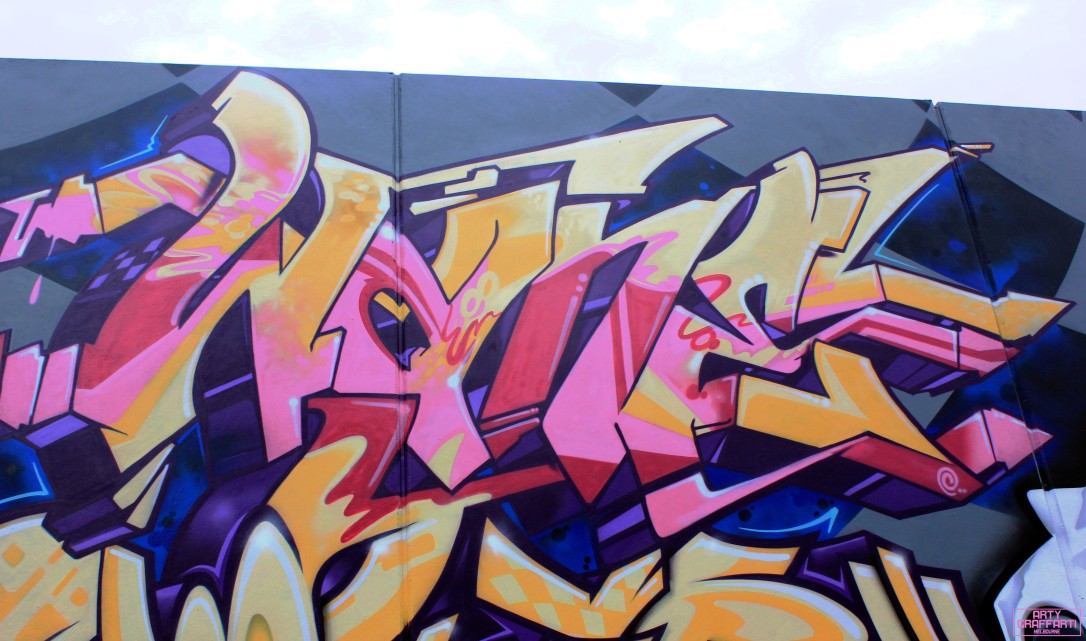 Wane Dvate Hooks Dem139 Sirum Collingwood4 Melbourne Arty Graffarti Graffiti