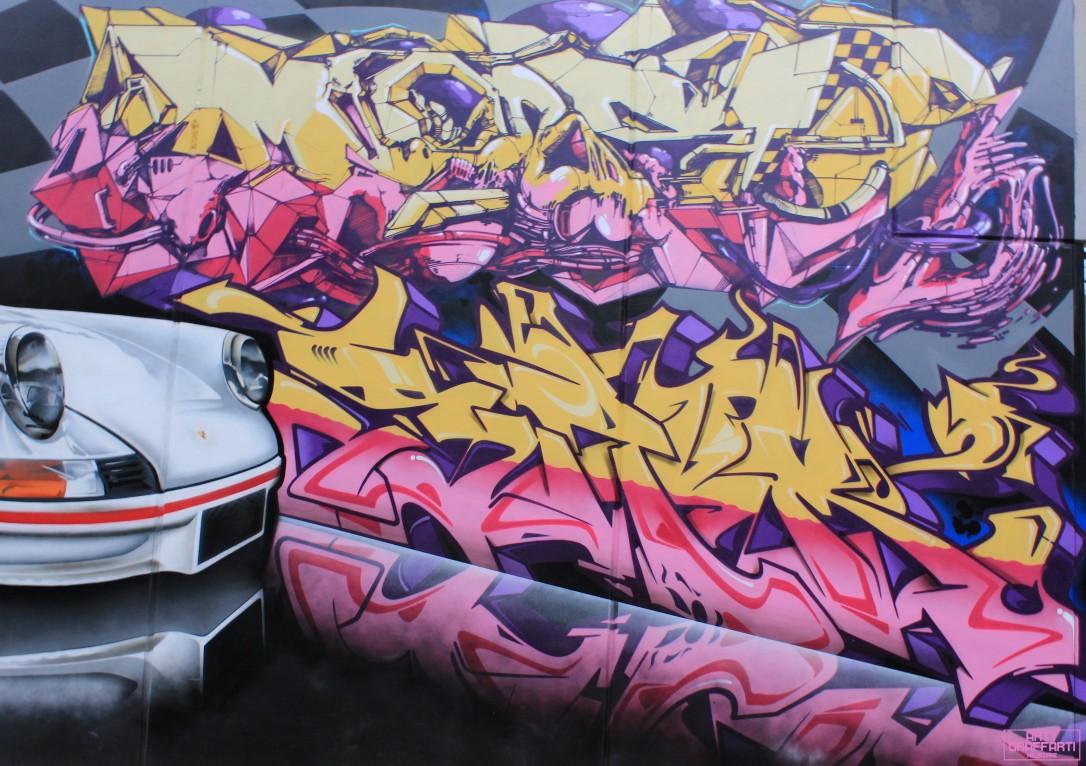 Wane Dvate Hooks Dem139 Sirum Collingwood5 Melbourne Arty Graffarti Graffiti