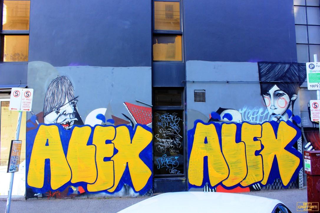 Aleks Fitzroy Graffiti Melbourne Arty Graffarti