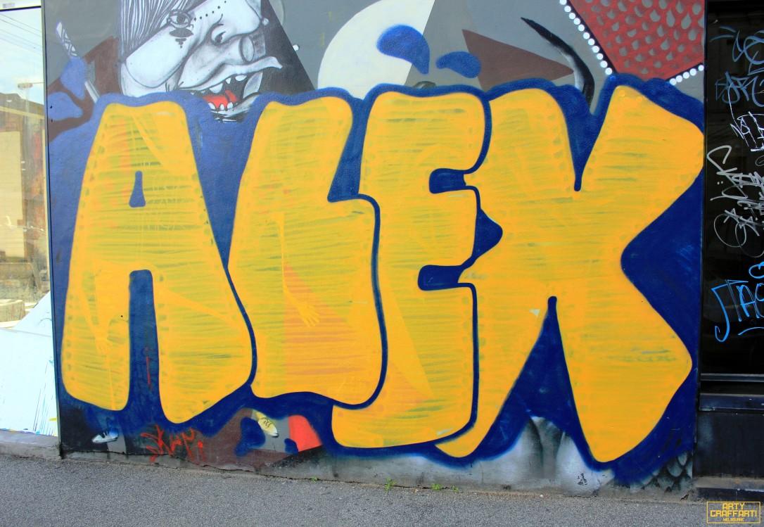 Aleks Fitzroy3 Graffiti Melbourne Arty Graffarti
