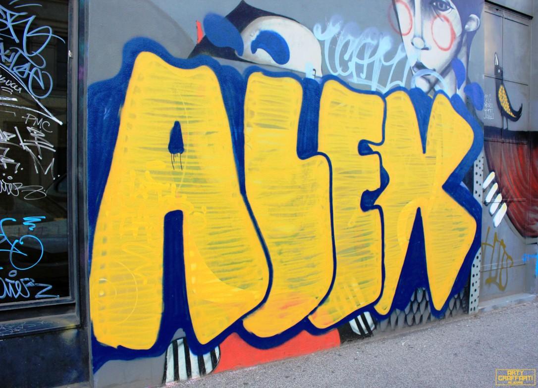 Aleks Fitzroy4 Graffiti Melbourne Arty Graffarti