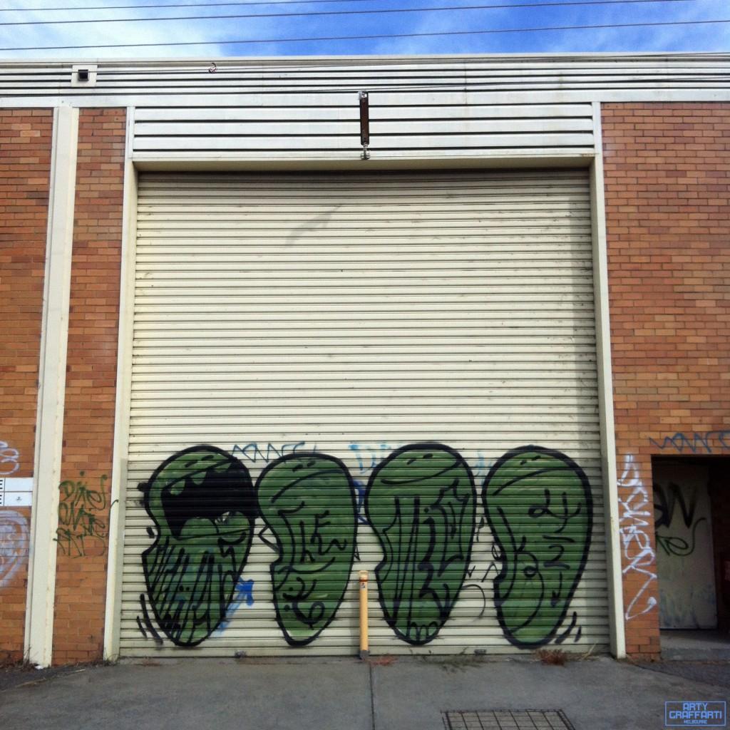 Mio Fairfield Graffiti Melbourne Arty Graffarti