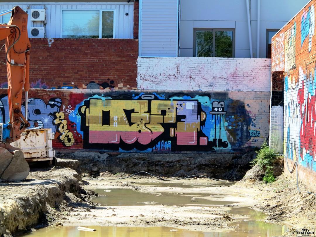 OG23 Collingwood Graffiti Melbourne Arty Graffarti