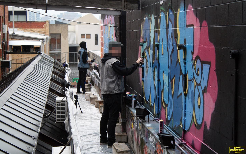 Revolver Upstairs Prahran Flies OG23 Skary Seasons of Change Winter Melbourne Graffiti Arty Graffarti10
