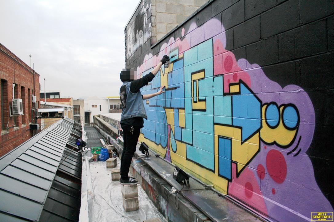 Revolver Upstairs Prahran Flies OG23 Skary Seasons of Change Winter Melbourne Graffiti Arty Graffarti11