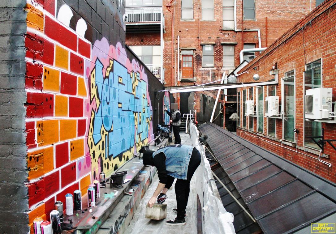 Revolver Upstairs Prahran Flies OG23 Skary Seasons of Change Winter Melbourne Graffiti Arty Graffarti12