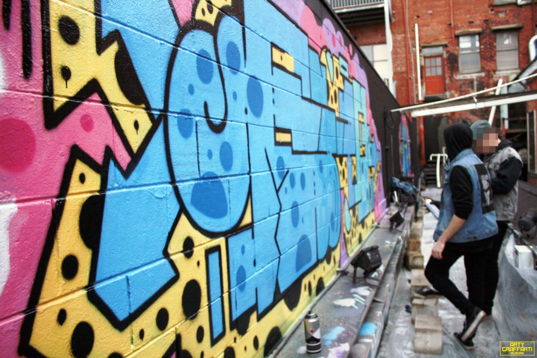 Revolver Upstairs Prahran Flies OG23 Skary Seasons of Change Winter Melbourne Graffiti Arty Graffarti14