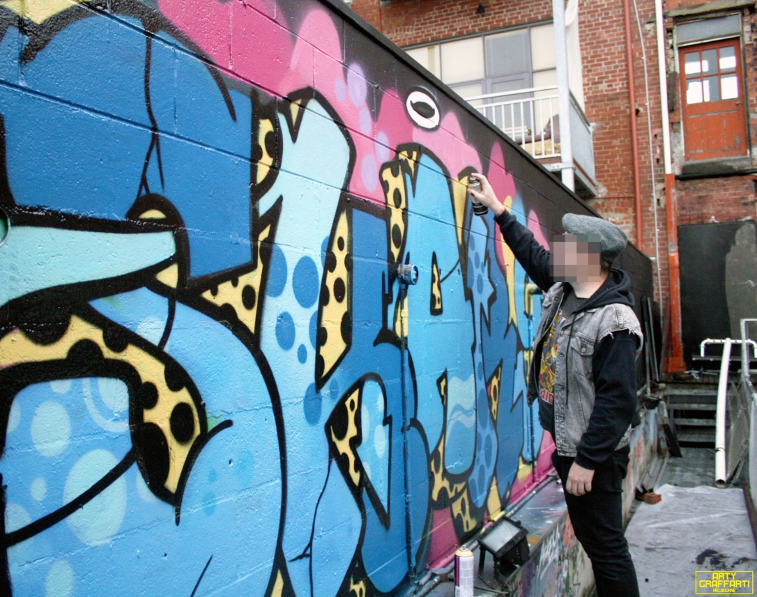 Revolver Upstairs Prahran Flies OG23 Skary Seasons of Change Winter Melbourne Graffiti Arty Graffarti15