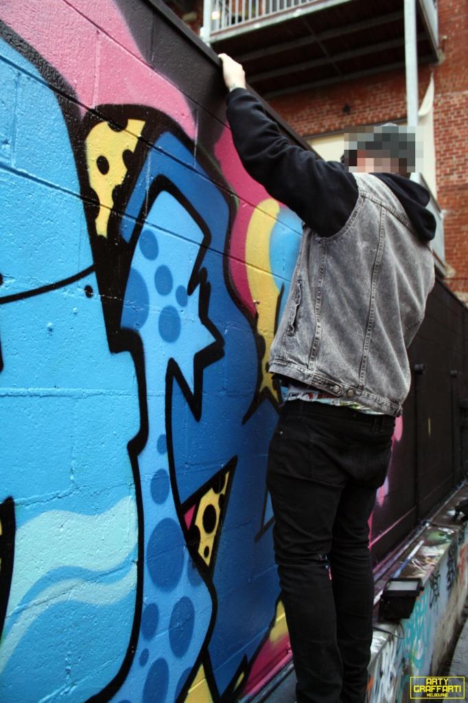 Revolver Upstairs Prahran Flies OG23 Skary Seasons of Change Winter Melbourne Graffiti Arty Graffarti16