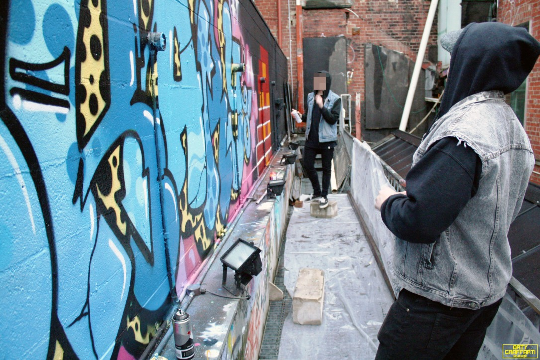 Revolver Upstairs Prahran Flies OG23 Skary Seasons of Change Winter Melbourne Graffiti Arty Graffarti17