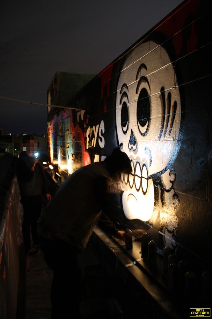 Revolver Upstairs Prahran Flies OG23 Skary Seasons of Change Winter Melbourne Graffiti Arty Graffarti20