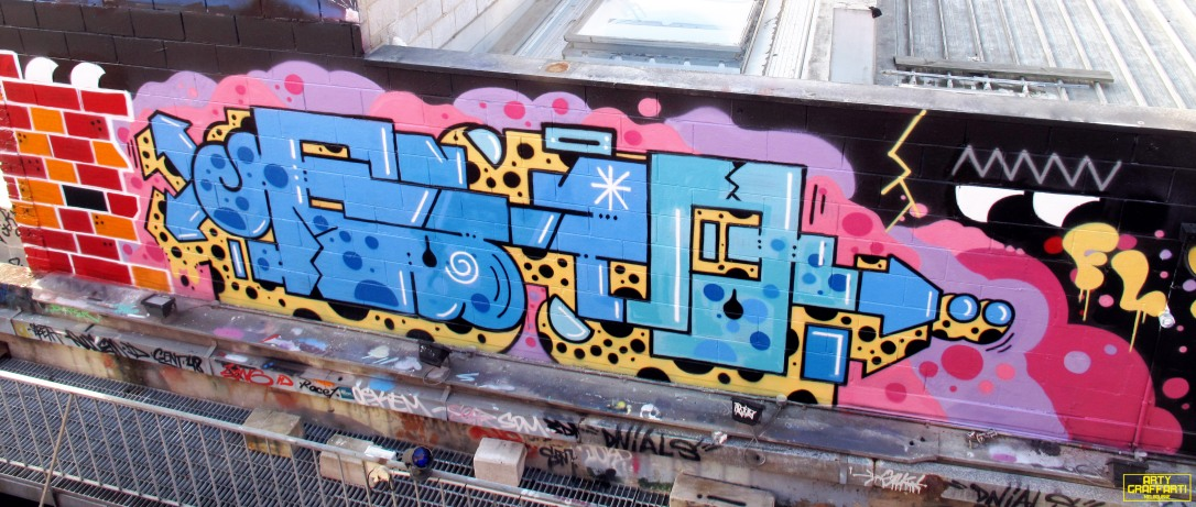 Revolver Upstairs Prahran Flies OG23 Skary Seasons of Change Winter Melbourne Graffiti Arty Graffarti21