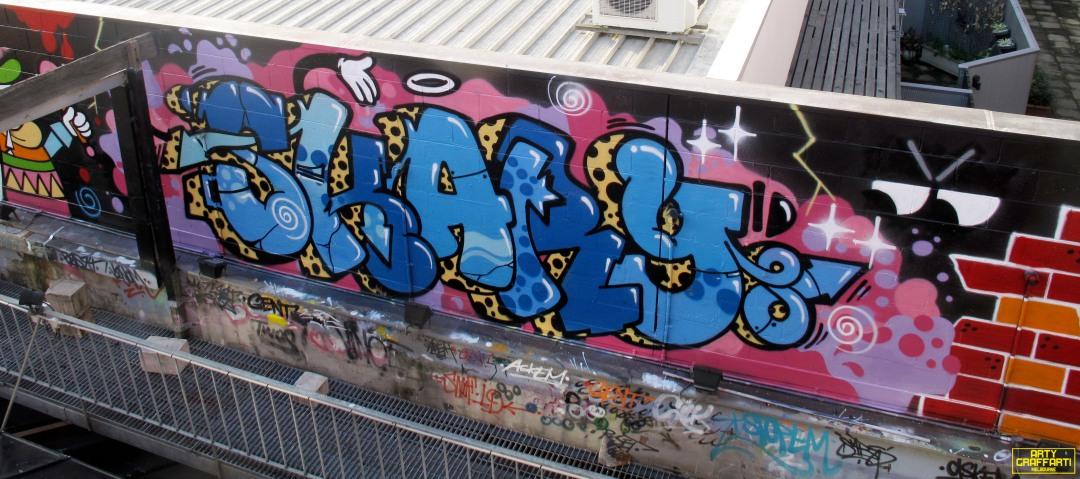 Revolver Upstairs Prahran Flies OG23 Skary Seasons of Change Winter Melbourne Graffiti Arty Graffarti23