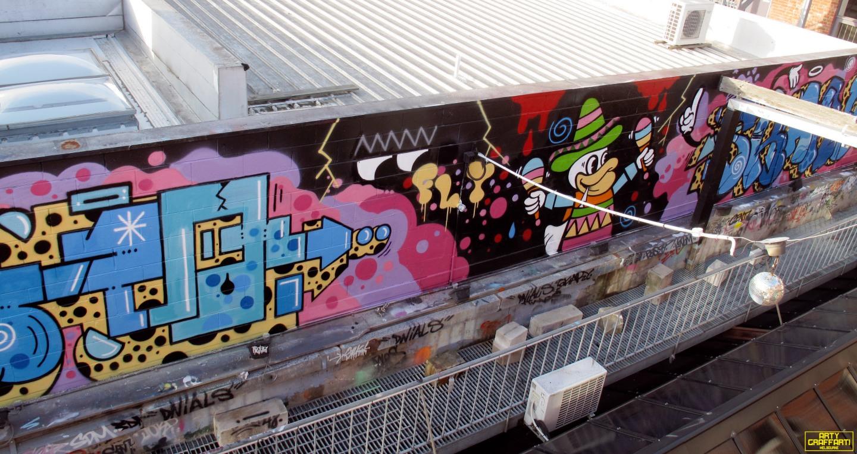 Revolver Upstairs Prahran Flies OG23 Skary Seasons of Change Winter Melbourne Graffiti Arty Graffarti24