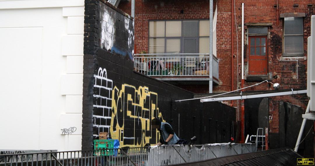Revolver Upstairs Prahran Flies OG23 Skary Seasons of Change Winter Melbourne Graffiti Arty Graffarti3