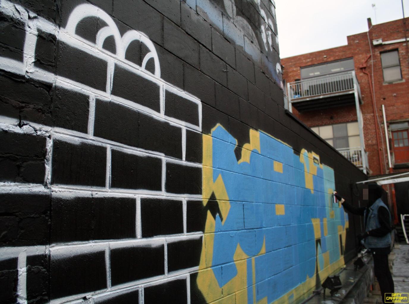 Revolver Upstairs Prahran Flies OG23 Skary Seasons of Change Winter Melbourne Graffiti Arty Graffarti4