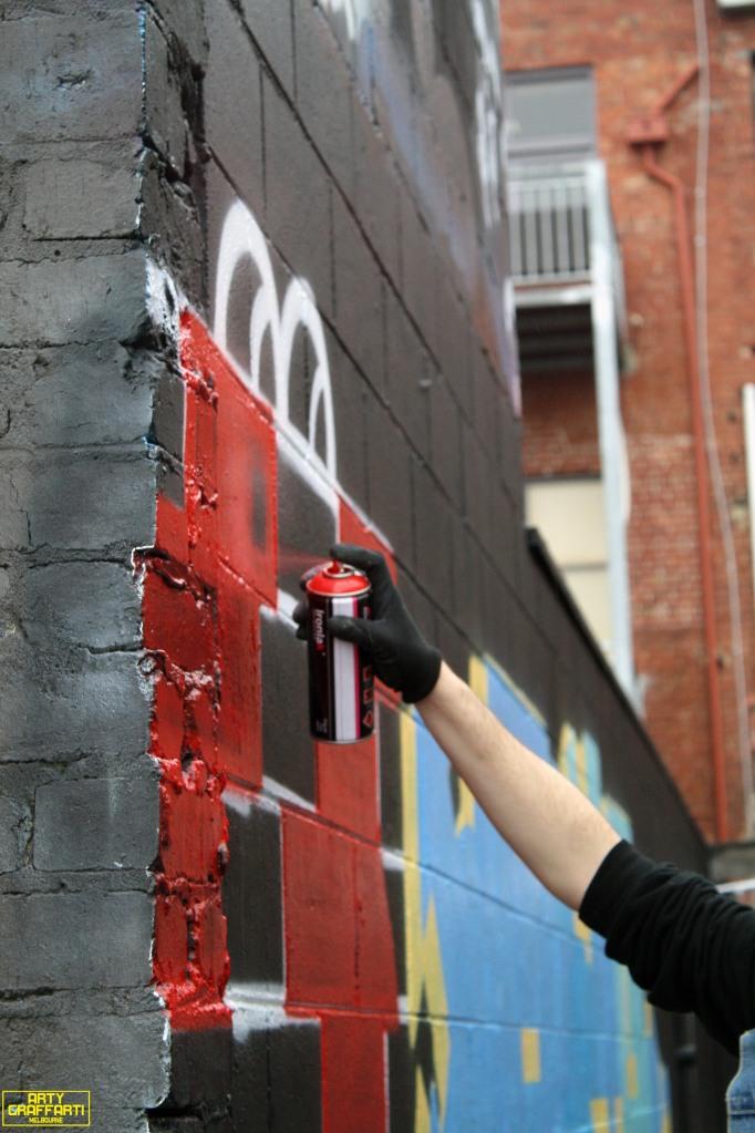 Revolver Upstairs Prahran Flies OG23 Skary Seasons of Change Winter Melbourne Graffiti Arty Graffarti5