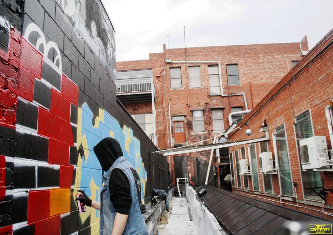 Revolver Upstairs Prahran Flies OG23 Skary Seasons of Change Winter Melbourne Graffiti Arty Graffarti6