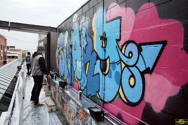 Revolver Upstairs Prahran Flies OG23 Skary Seasons of Change Winter Melbourne Graffiti Arty Graffarti9