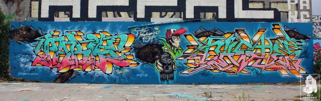 Paris-Naste-Preston-Melbourne-Graffiti-Arty-Graffarti