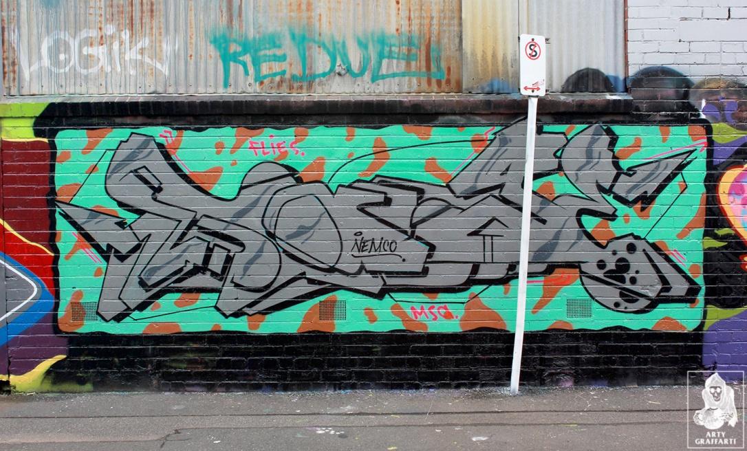 Ikool-Ouzo-Keno-Sage-Bolts-Collingwood-Graffiti-Melbourne-Arty-Graffarti2