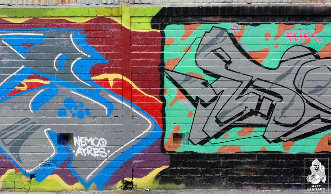 Ikool-Ouzo-Keno-Sage-Bolts-Collingwood-Graffiti-Melbourne-Arty-Graffarti6