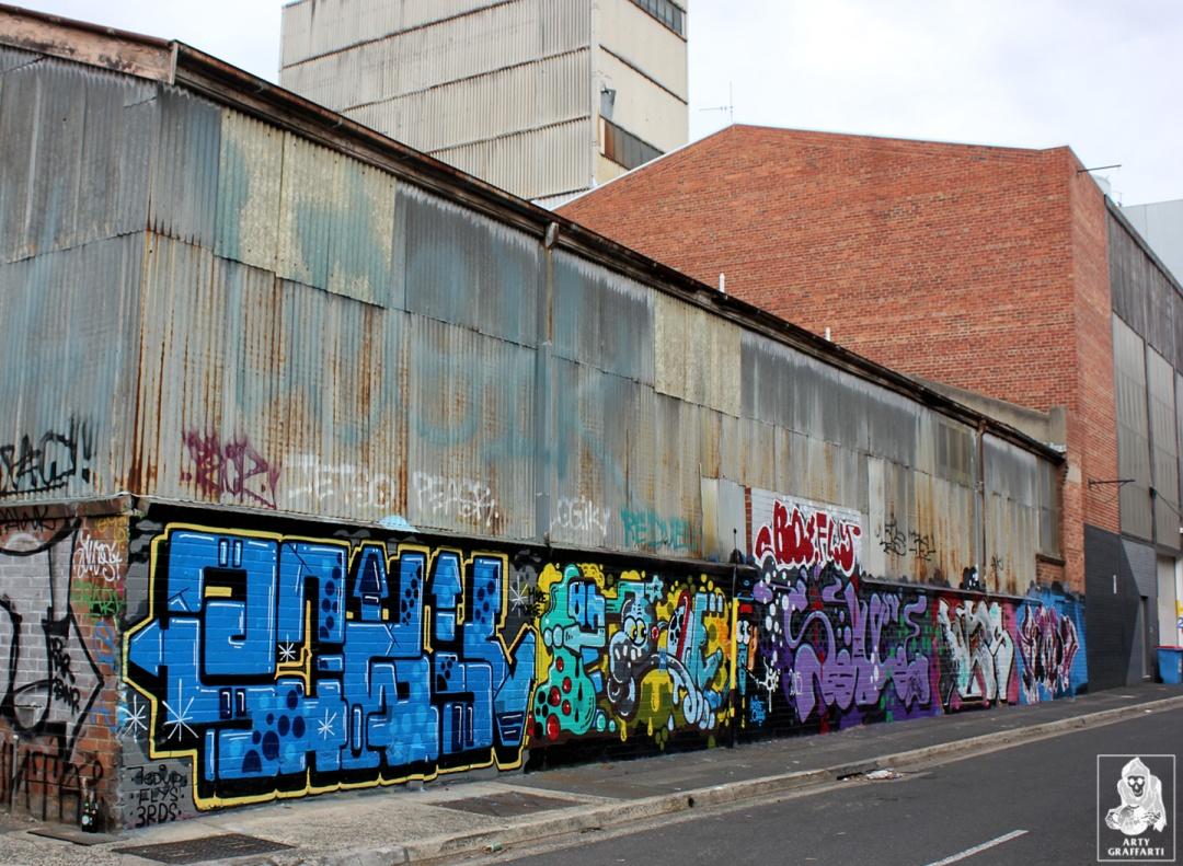 Pawk-H20e-Sauce-Bolts-Kawps-Collingwood-Graffiti-Melbourne-Arty-Graffarti