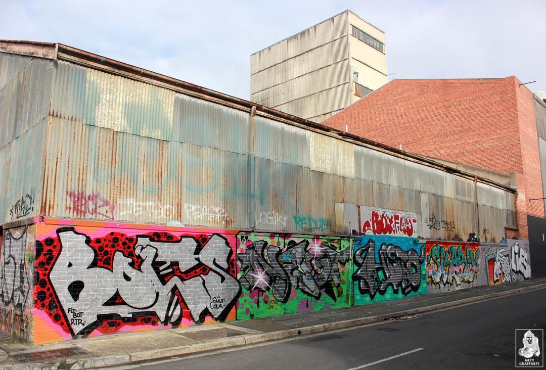 Bolts-Neo-Sage-Histoe-Skary-Nemco-Flies-Collingwood-Graffiti-Melbourne-Arty-Graffarti