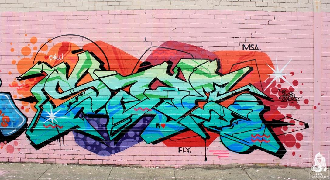 Tres-OG23-Ikool-Sage-Brunswick-Graffiti-Melbourne-Arty-Graffarti88