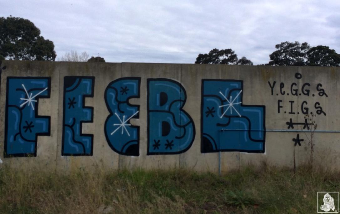 Feebl-Atack-Amee Clifton Hill Graffiti Melbourne Arty Graffarti4