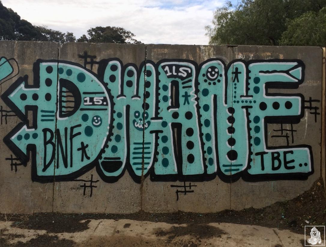 Feebl-Atack-Dwane-Clifton Hill Graffiti Melbourne Arty Graffarti