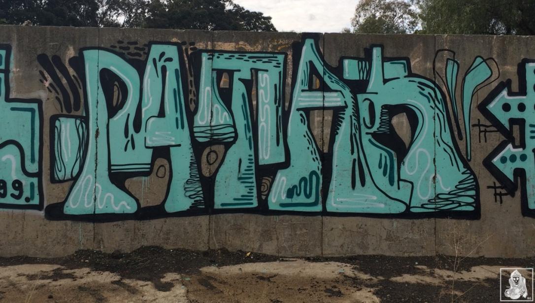 Feebl-Atack-Dwane-Clifton Hill Graffiti Melbourne Arty Graffarti2