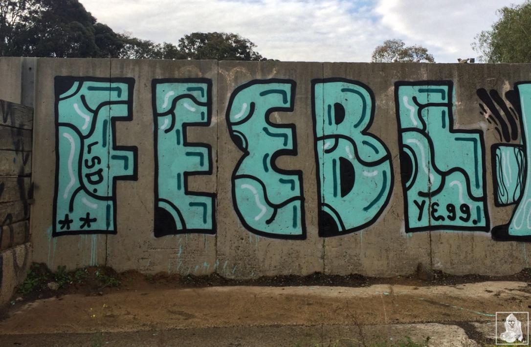 Feebl-Atack-Dwane-Clifton Hill Graffiti Melbourne Arty Graffarti3