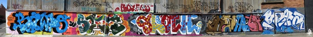 Kawps-Bolts-Sloth-Atack-Soeta-Collingwood Graffiti Melbourne Arty Graffarti