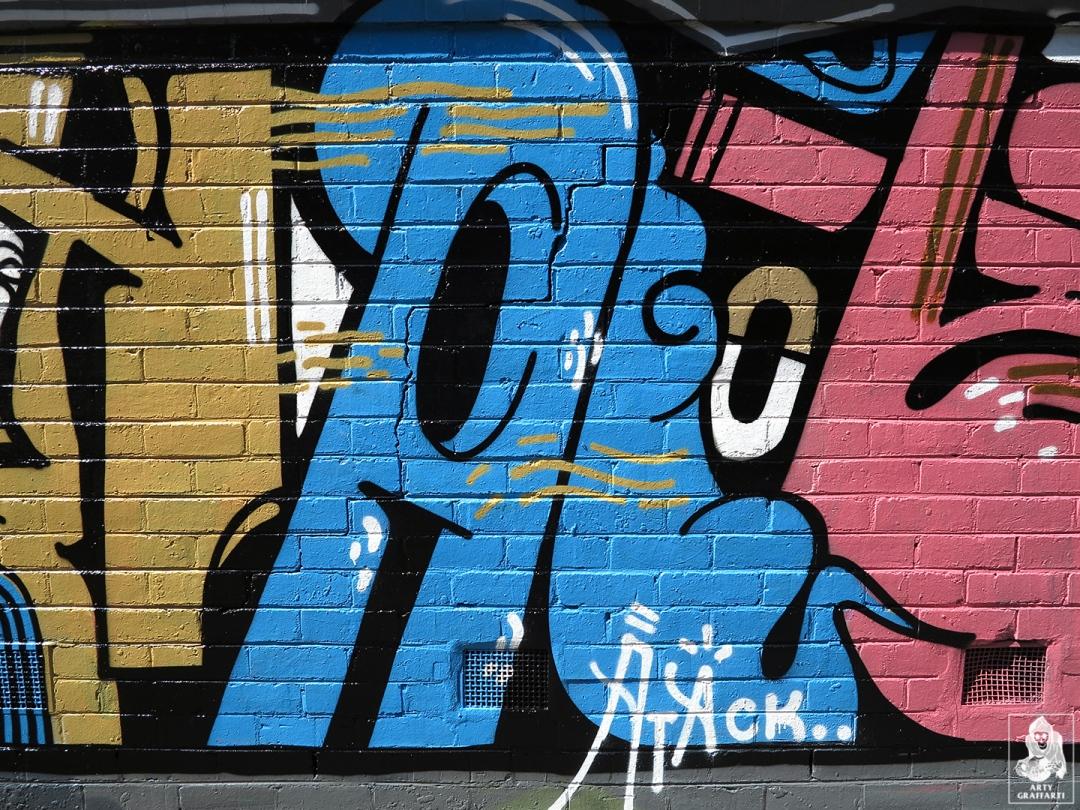 Kawps-Bolts-Sloth-Atack-Soeta-Collingwood-Graffiti-Melbourne-Arty-Graffarti9