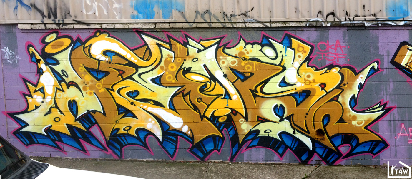 GRAFFITI | Peps – Prix – Akuze | Footscray – The Fourth Walls