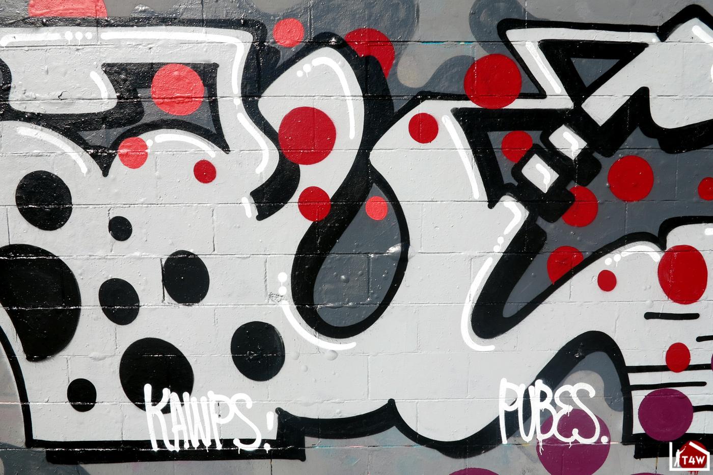 the fourth walls melbourne graffiti sauce pawk preston