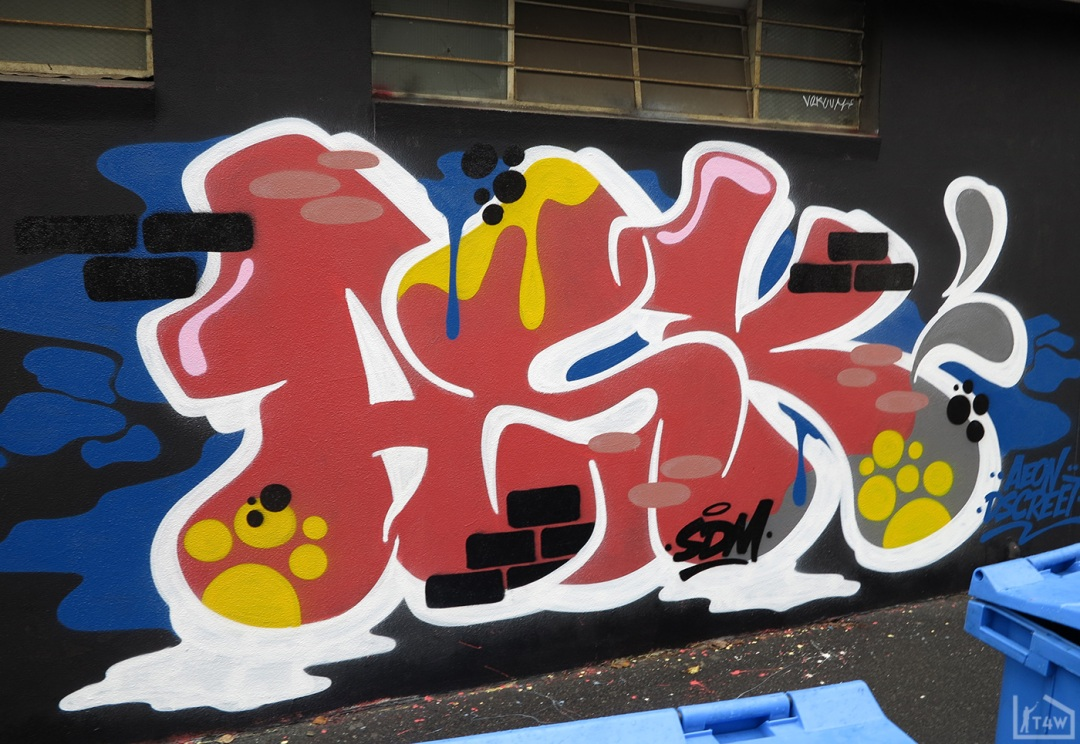 the-fourth-walls-melbourne-graffiti-h20e-ohyeah-bird-askem-fitzroy2