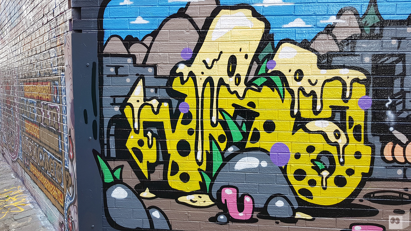 GRAFFITI | Haunt | Brunswick – The Fourth Walls