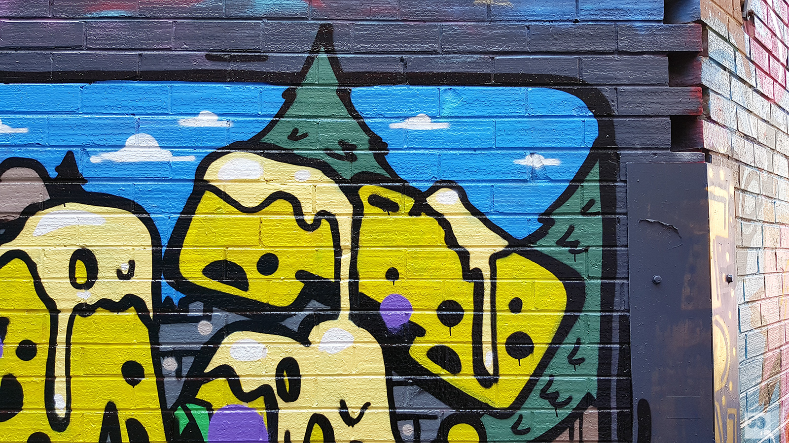 GRAFFITI | Haunt | Brunswick – The Fourth Walls