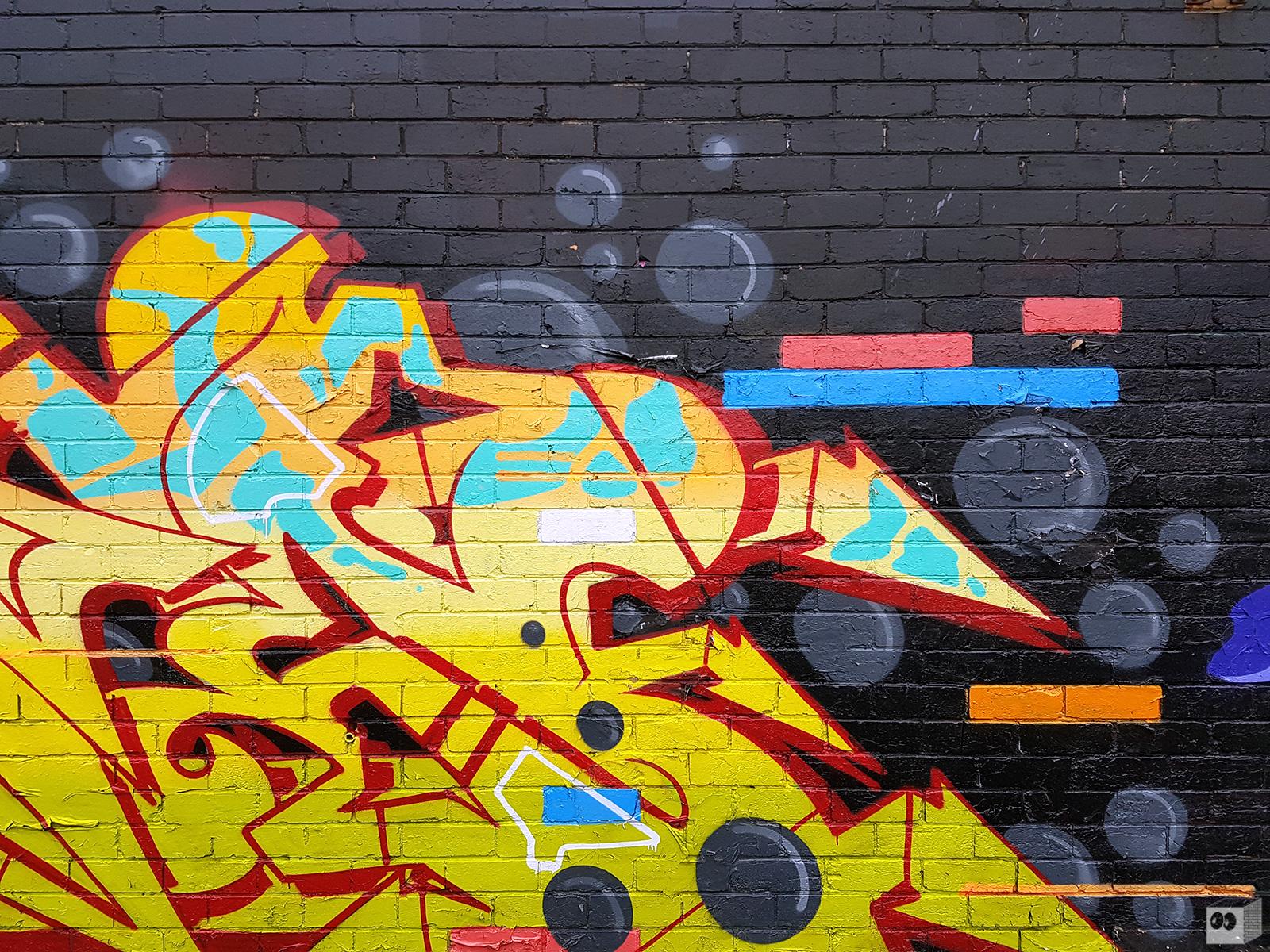 GRAFFITI   Ikon – Sage – 2Flash   Collingwood – The Fourth Walls