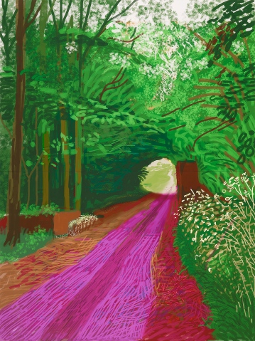 the-fourth-walls-melbourne-art-exhibition-david-hockney-current-the-nation-gallery-of-victoria-ngv13