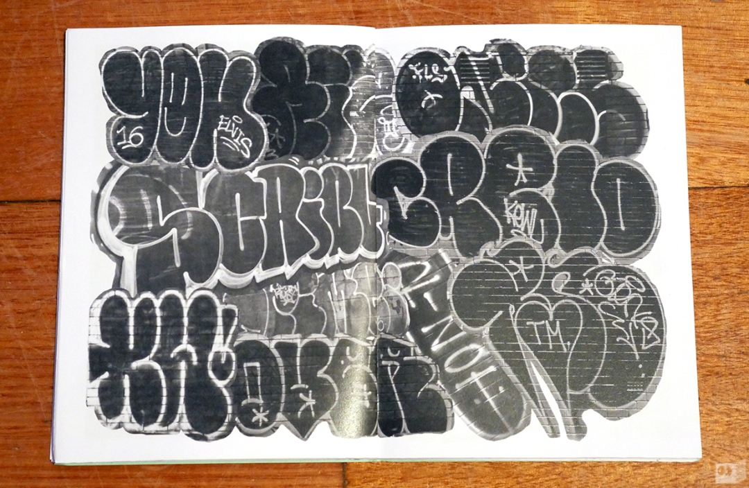the-fourth-walls-melbourne-graffiti-czna-sydizm-zine-review3